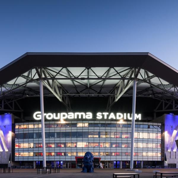 Guided tours of the Groupama Stadium - Lyon France