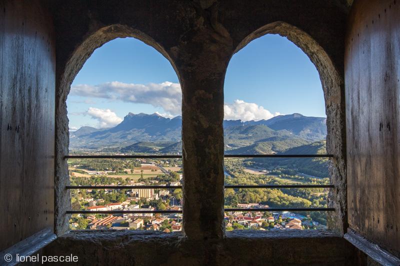 Vue depuis la tour de Crest, Drôme © Lionel Pascale / Drôme Tourisme