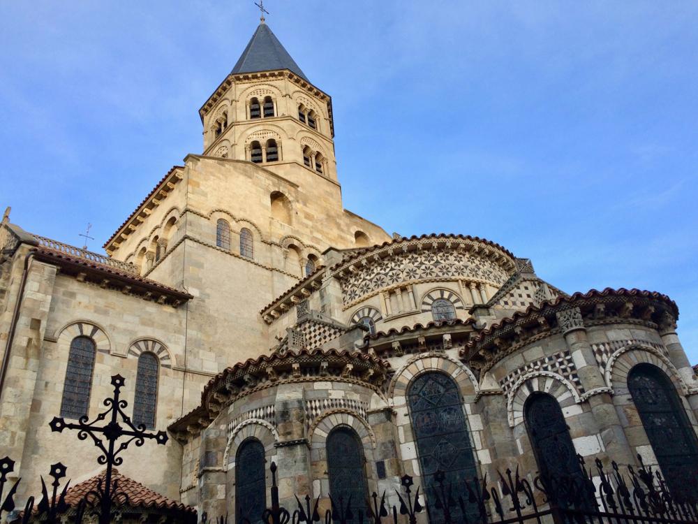 Notre-Dame du Port à Clermont-Ferrand © Stéphane Rdriguez