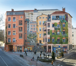 Mur peint des Canuts © Michel Djaoui