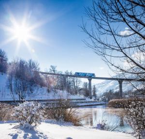 Les Arcs - le téléphérique entre Bourg-Saint-Maurice et Arcs 1600 - Photo Manu Reyboz / Les Arcs