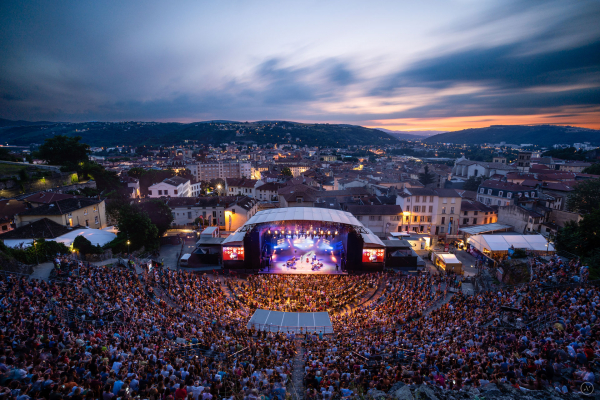Ambiance de concert pendant le festival Jazz à Vienne © Arthur Viguier