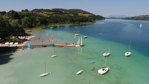 Lac de Paladru © Office de Tourisme du Pays Voironnais