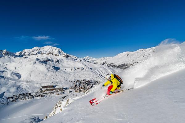 Freeride Ski à Tignes © Andyparant.com