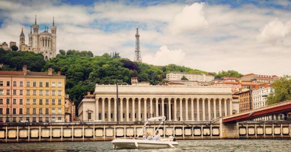 Cap Confluent sur la Saône