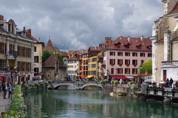 Canal d'Annecy © Visual Hunt