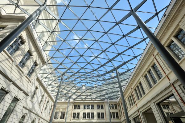 Grand Hôtel-Dieu, Cour du Midi (vue intérieure) © Vincent Ramet