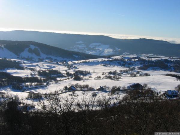 Plateau de Retord - Plan d'Hotonnes