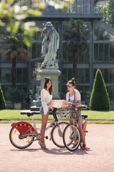 Vélo'v au parc de la Tête d'Or - Yanis Ourabah