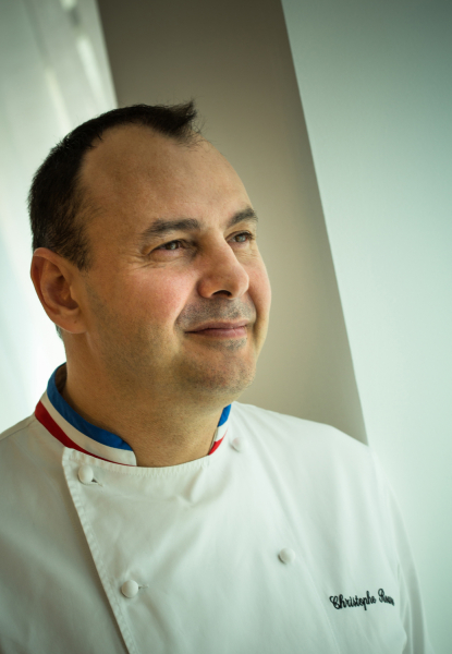 Christophe Roure, Chef du Neuvième Art © Apicius, Poligny (39) photo Philippe Giraud