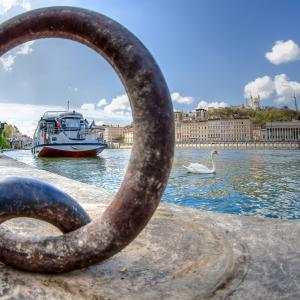 Croisière promenade sur la Saône © Lyon City Boat / MARTIN Benoit