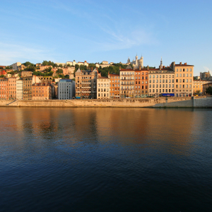 The Saône and the Vieux-Lyon  © Marie Perrin / ONLYLYON Tourisme et Congrès
