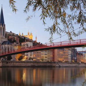 Les quais de Saône © Tristan Deschamps / ONLYLYON Tourisme et Congrès