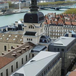 Grand Hôtel-Dieu, from rue Bellecordière © Vincent Ramet