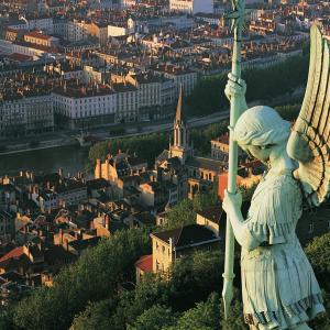 View from Fourvière Basilica © Tristan Deschamps