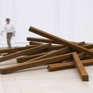 Bernar Venet - Effondrements Angles, 2012