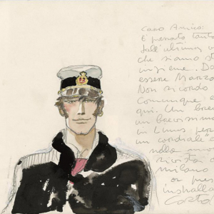 Corto Maltese – Portrait (1983)  © Cong SA. Switzerland. All rights reserved