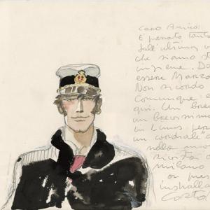 Corto Maltese – Portrait (1983)  © Cong SA. Switzerland. All rights reserved