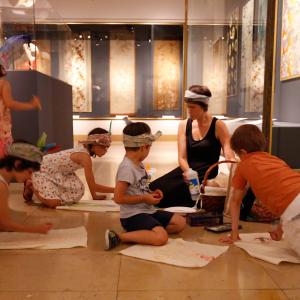 Atelier 4-6 ans au MTMAD © Sylvain Pretto