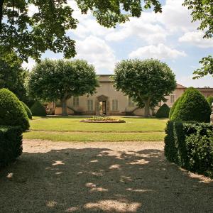 Domaine Melchior Philibert ('à la française' gardens ) in Charly © Ville de Charly