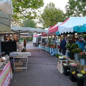 Marché biologique de Collonges-au-Mont d'Or