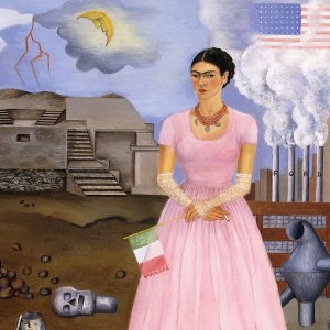 Frida Kalho, Self Portrait - Los Modernos