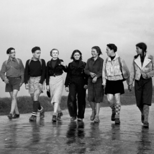 Young people during the Seconde War © Jamet / CHRD