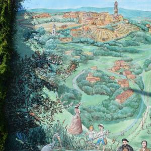 Fresque histoire et identité d'Irigny - Services de la Mairie d'Irigny