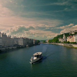 The Vaporetto on the Saône © Zeste Production