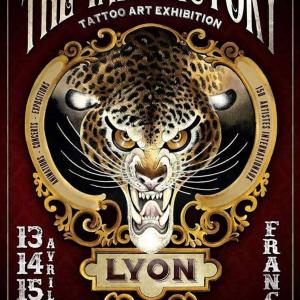 Affiche du Salon Ink Factory - La Sucrière 2018
