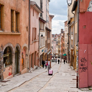 Need some color in your life? We suggest getting lost in the variegated streets of Lyon! - -